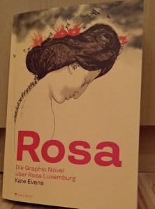 Cover: Rosa. Die Graphic Novel über Rosa Luxemburg.